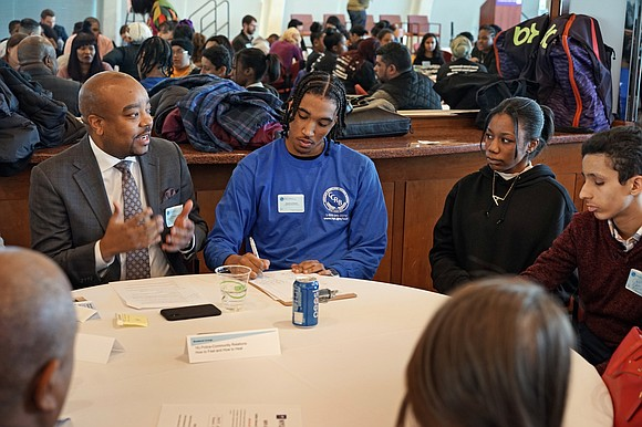 Approximately 300 young people attended Speak Up, Speak Out: A Youth Summit on Policing in New York City, hosted by ...