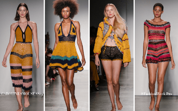 Over the course of two shows at Pier 59 during fashion week, Oxford Fashion Studio presented 14 designers.