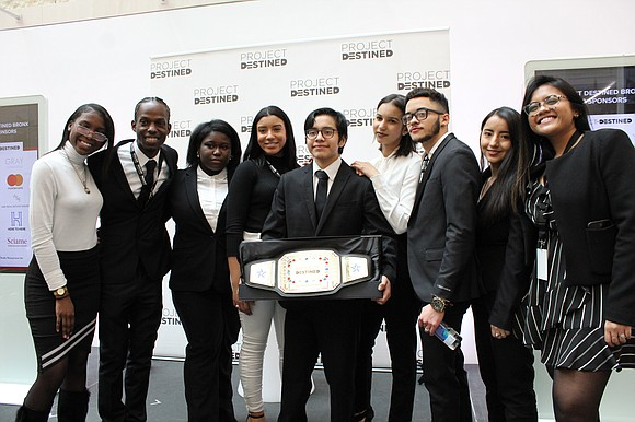 Approximately 60 students from the Bronx recently completed a competition where they showed off what they learned in a real ...