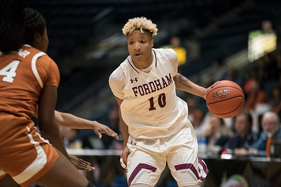 They're celebrating in the Bronx. Sunday, Fordham University women's basketball won the Atlantic 10 Championship with a 62–47 victory over ...