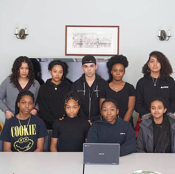 A group of students at an elite private school in the Bronx who staged a lock-in that lasted several days ...