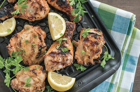 Keep your kitchen cool and comfortable with grilled meals that banish the heat to the outdoors. Crisp, fresh greens and ...