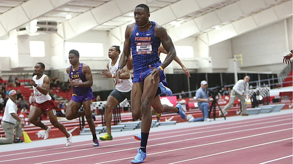 Track and field aficionados in Virginia discovered Grant Holloway years ago. Now the whole country knows.