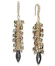 INC International Concepts, I.N.C. Gold-Tone Shaky Bead Drop Earrings, Created for Macy's