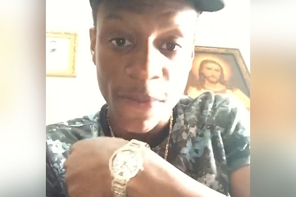 Thavone Santana spoke publicly for the first time Monday afternoon, seven months after he was shot in the face by ...