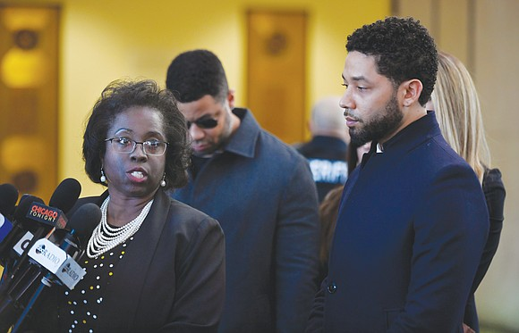 Prosecutors still insist Jussie Smollett faked a racist, anti-gay attack on himself in the hopes that the attention would advance ...