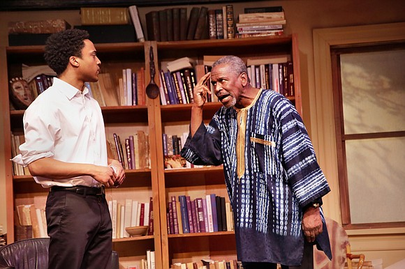 """I love Woodie King Jr.'s New Federal Theatre, and its most current offering """"Looking For Leroy"""" is proof of why."""