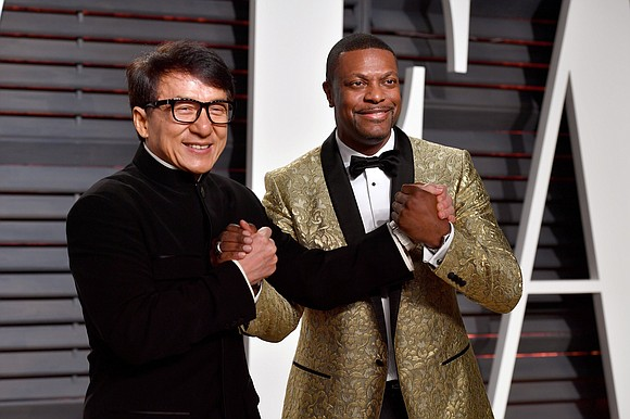 """Chris Tucker took to social media over the weekend to wish his longtime pal and """"Rush Hour"""" co-star Jackie Chan ..."""