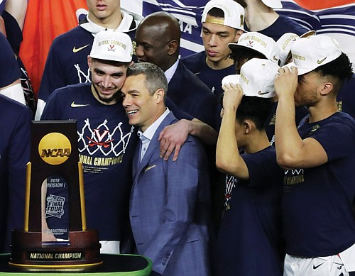 """""""We have a saying: The most faithful win,"""" Virginia coach Tony Bennett said. """"These guys were so faithful. Obviously we ..."""
