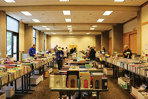 Thousands of used books, movies and more in all genres and areas of interest will be available for purchase at ...