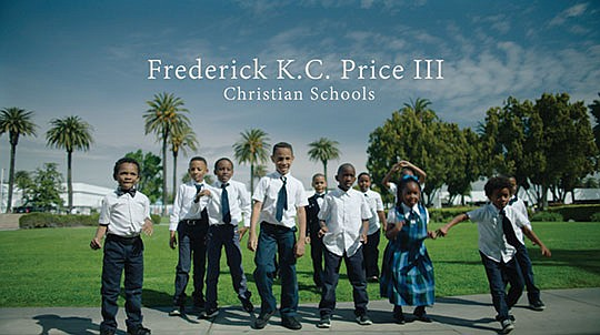 """Frederick K.C. Price III Christian Schools has unveiled the video for """"I'm Here"""", a high energy.."""