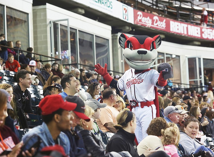 Flying Squirrels Schedule 2019 Rain cancellations don't dampen Flying Squirrels' opening spirit