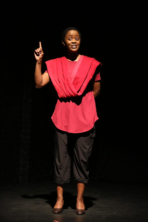 """""""Miracle in Rwanda,"""" playing on Theatre Row on 42nd Street, tells the story of one young woman's struggle. It is ..."""