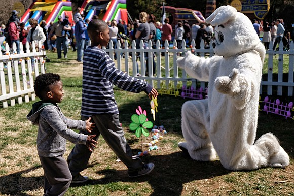 Two of Richmond's most popular seasonal events are being held this weekend — the Dominion Energy Family Easter at Maymont ...