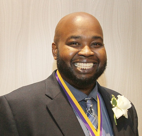 Rodney A. Robinson, the 40-year-old history and social studies teacher who inspires students each and every day inside the Richmond ...