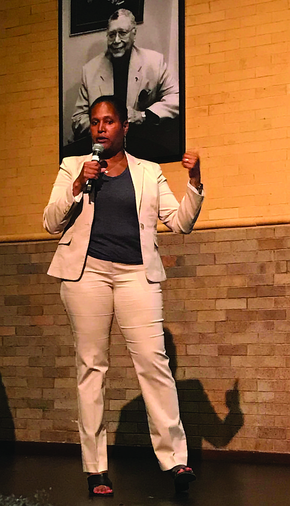 Fourth Ward Alderman, Sophia King, recently hosted a Town Hall Meeting at Northeastern Illinois University's Carruthers Center, 700 E. Oakwood ...