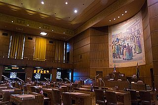 The Oregon Senate last week unanimously voted to curtail some of the policing authority from security officers hired to patrol ...