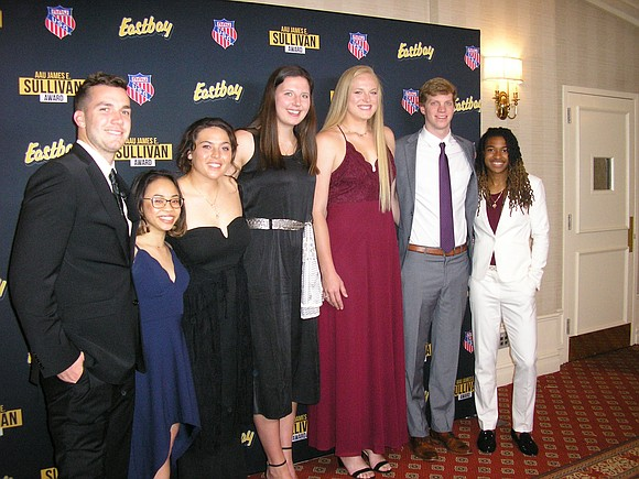 The eight finalists for the 89th annual AAU James E. Sullivan Award have achieved incredible heights in their individual sports—World ...