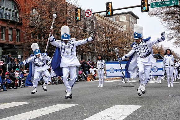 Forget the floats and the cartoon character balloons. The Hampton University Marching Force will perform in the 2020 Macy's Thanksgiving ...
