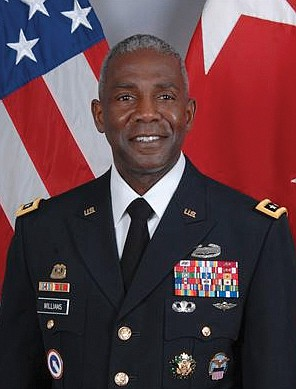U.S. Army Lt. Gen. Darrell K. Williams