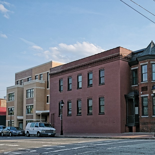 The expanded New Clay House, seen here, is one of the largest residential developments in the city for people experiencing homelessness. (Sandra Sellars/Richmond Free Press)