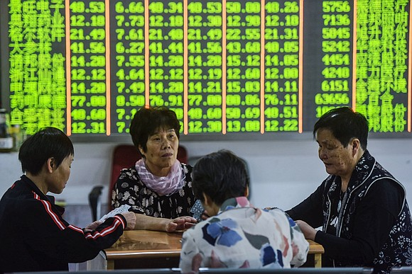 President Donald Trump sent shivers through global markets on Monday, with stocks plunging after he threatened new tariffs that would ...