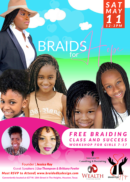 Houston Girls ages 7-17 can get a head start on launching their own business this Saturday, May 11th thanks to ...