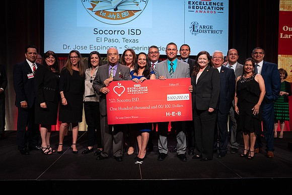 On Sunday, May 5, H-E-B announced statewide winners for the 18th annual H-E-B Excellence in Education Awards during an awards ...