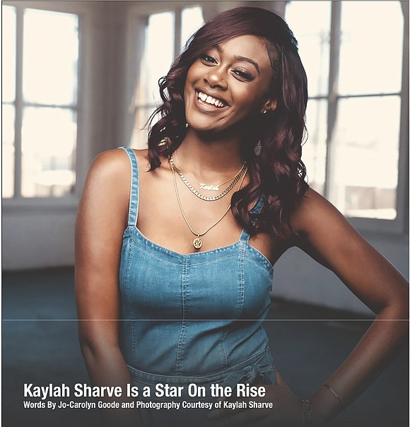 Kaylah Sharve has to pinch herself these days to make sure she is not dreaming. The 20-year-old is having the ...