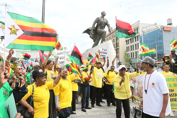 """""""On Saturday, May 25, African Liberation Day, the streets of Washington, D.C. will echo to the thunder of voices of ..."""