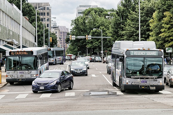 More people are using public transit, GRTC reported Tuesday.