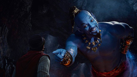 """Aladdin"" cast its spell over the holiday weekend box office."