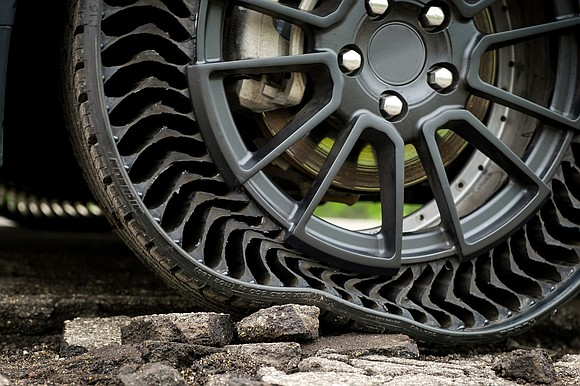Michelin and General Motors have teamed up to literally reinvent the wheel. The two companies have rolled out a new ...