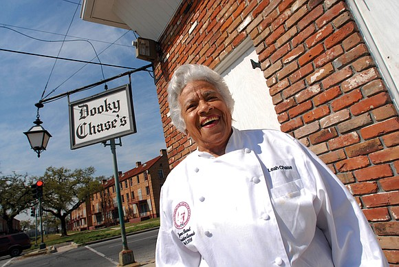 New Orleans chef and civil rights icon Leah Chase, who created New Orleans' first white-tablecloth restaurant for black patrons, broke ...