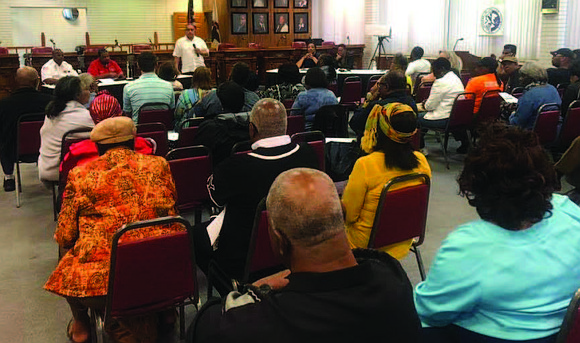 The Village of Dolton recently held a Community Policing Meeting to allow residents to share their concerns, ask questions related ...