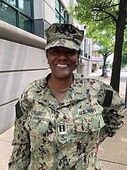 Lt. Andrea McCoy Garrett