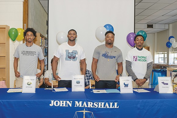 Years ago, the basketball coaches and players at Richmond's John Marshall High School sowed the seeds of success, which have ...