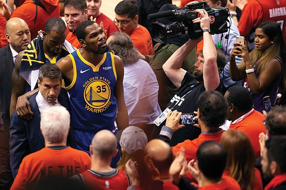 Inside their blue and gold jerseys still beats the heart of a champion. The Golden State Warriors are hobbling and ...