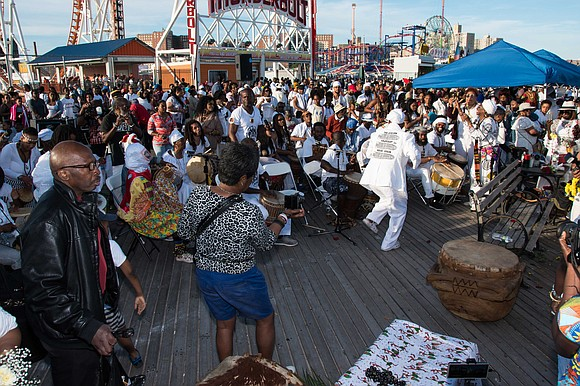 The 30th annual Tribute to the Ancestors of the Middle Passage hosted by City University, was held on Saturday, June ...