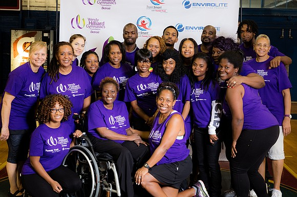 "On June 1, the Wendy Hilliard Gymnastics Foundation presented its annual showcase, ""Showtime in Harlem,"" at the historic Harlem Armory."