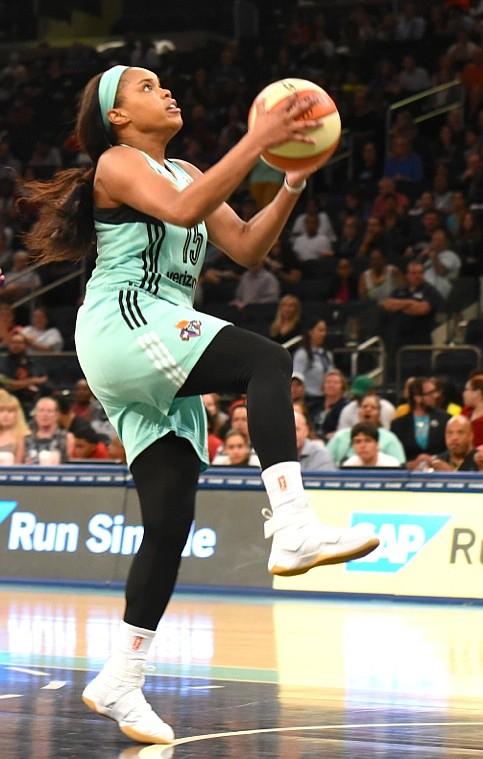 Center Amanda Zahui B scored a career-high 37 points.