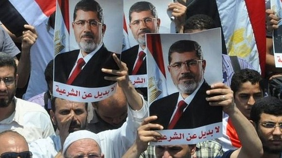 Egyptian ex-president Mohammed Morsi, persecuted by the current military regime according to rights activists, collapsed on the stand and died ...