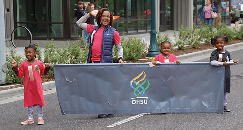 Participants of all ages enjoy the fun.