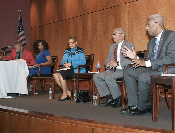 Call it better living through politicking. Members of the Congressional Black Caucus emphasized the importance of political power as the ...