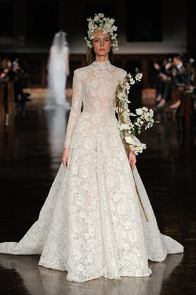 The looks were dainty, feminine, well-designed and lovely. A beautiful gown for your wedding day was all that mattered.
