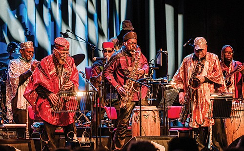 The Sun Ra Arkestra band is super excited to return to Portland for a three-night residency at the Hollywood Theater with shows, July 14 through 16.