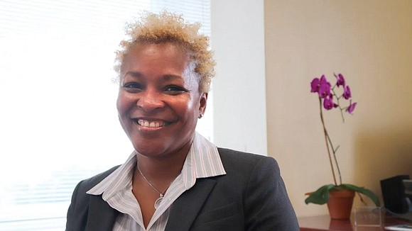 Sitting in her office on Manhattan's far west side, the new president of New York Theological Seminary, Dr. LaKeesha Walrond, ...