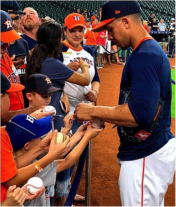 Astros love their fans.