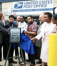 Major Robert Odell Owens Post Office