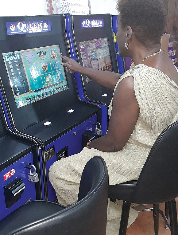 """Andrea R. Hill is a self-confessed """"slot machine grinder,"""" but she still hasn't visited the new Rosie's Richmond Gaming Emporium ..."""